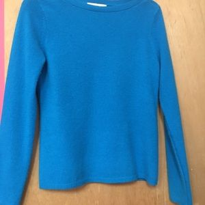 Blue Cashmere Sweater, from Stein Mart